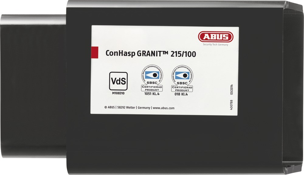 ABUS ConHasp Granit™ 215/100 Containerschloss für Lagercontainer