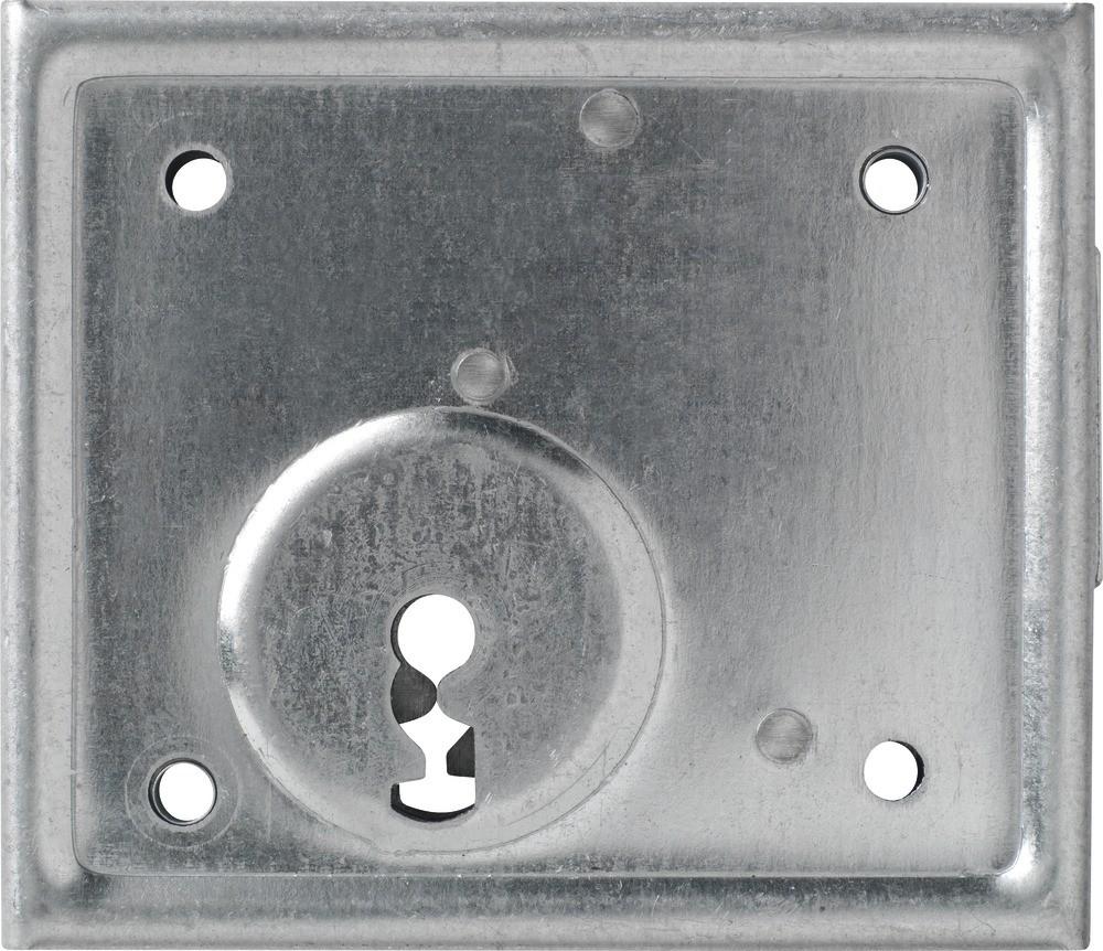 ABUS Aufschraubschloss Kastenschloss  Aufschraubschloss Buntbart für Buntbartschlüssel ASS BB (Art.-Nr. 21513)