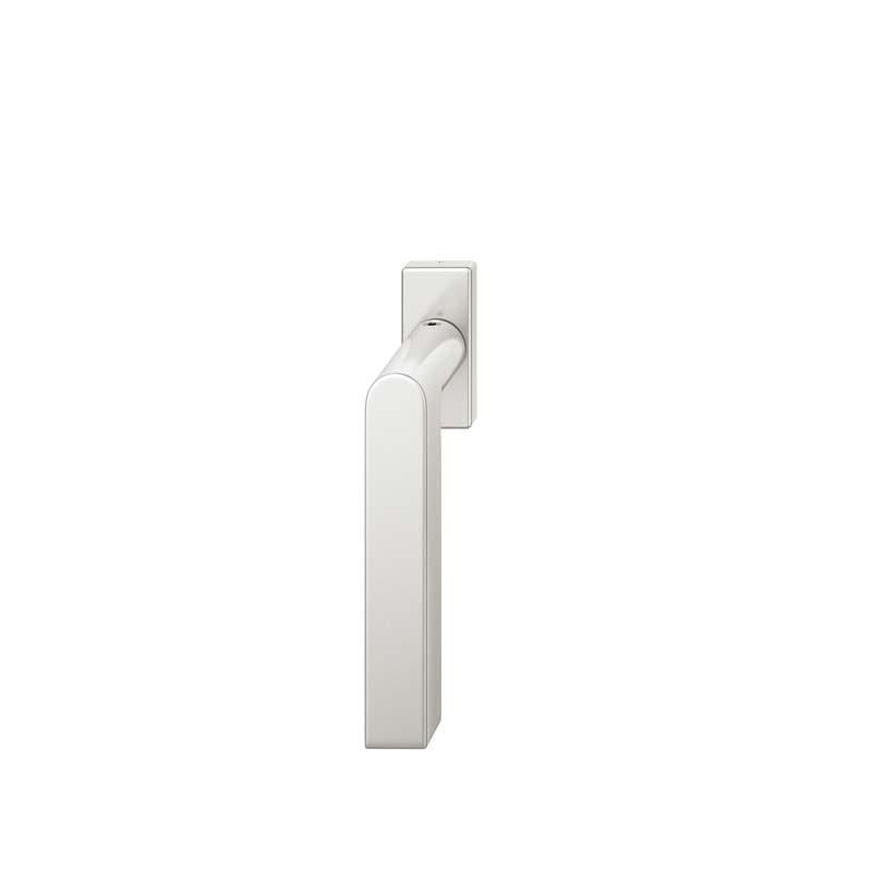 FSB Fenstergriff mit eckige Rosette 7 mm Stift 10 mm Nocken Stiftüberstand 24-38 mm Aluminium naturfarbig (0 34 1001 09032 0105)