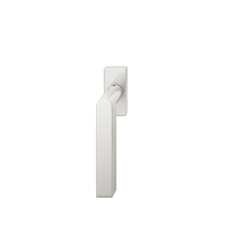 FSB Fenstergriff eckige Rosette 7 mm Stift 10 mm Nocken Stiftüberstand 24-38 mm Aluminium naturfarbig (0 34 1001 09040 0105)