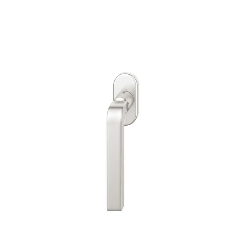 FSB Fenstergriff ovalrosette 7 mm Stift 10 mm Nocken Stiftüberstand 24-38 mm Aluminium naturfarbig (0 34 1004 09039 0105)