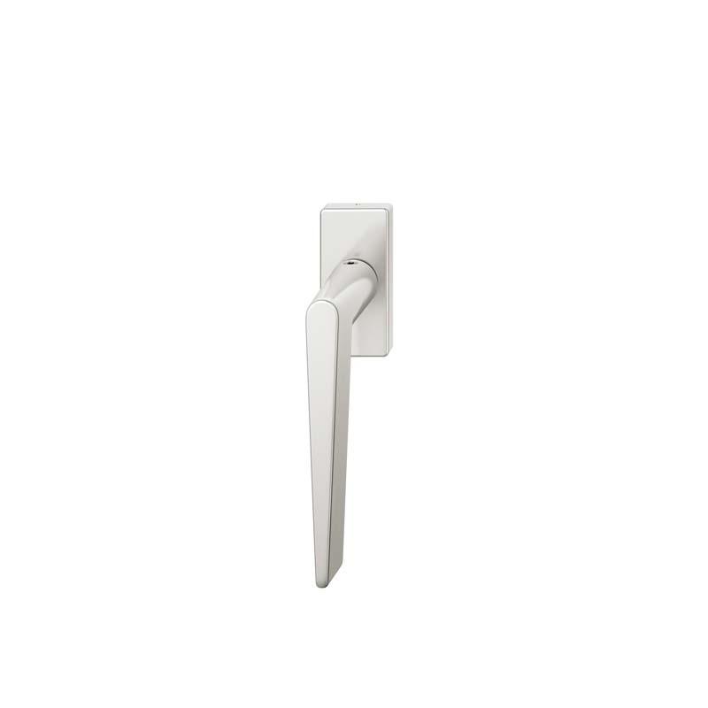 FSB Fenstergriff eckige Rosette 7 mm Stift 10 mm Nocken Stiftüberstand 24-38 mm Aluminium naturfarbig (0 34 1005 09040 0105)