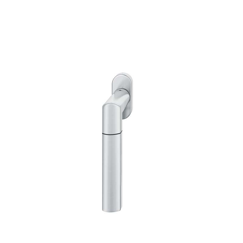 FSB Fenstergriff mit ovalrosette 7 mm Stift 10 mm Nocken Stiftüberstand 24-38 mm Edelstahl fein matt (0 34 1078 09030 6204)