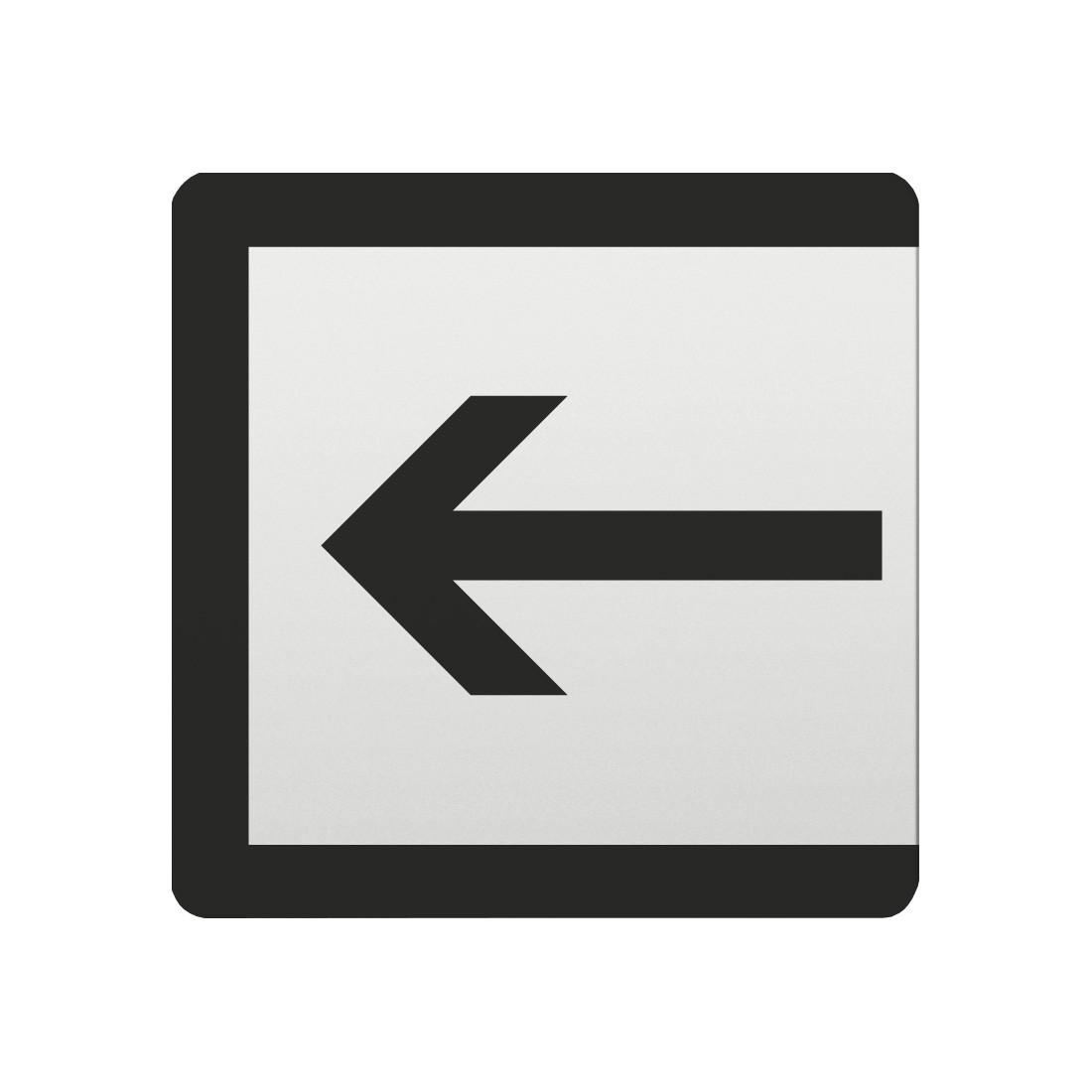 FSB Hinweiszeichen Eingang Lasergraviert Aluminium naturfarbig (0 36 4059 00020 0105)