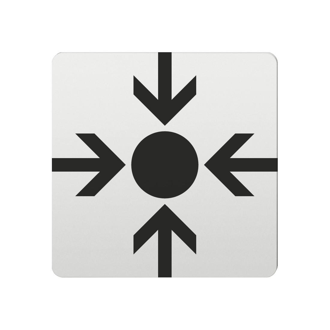 FSB Hinweiszeichen Treffpunkt Lasergraviert Aluminium naturfarbig (0 36 4059 00022 0105)