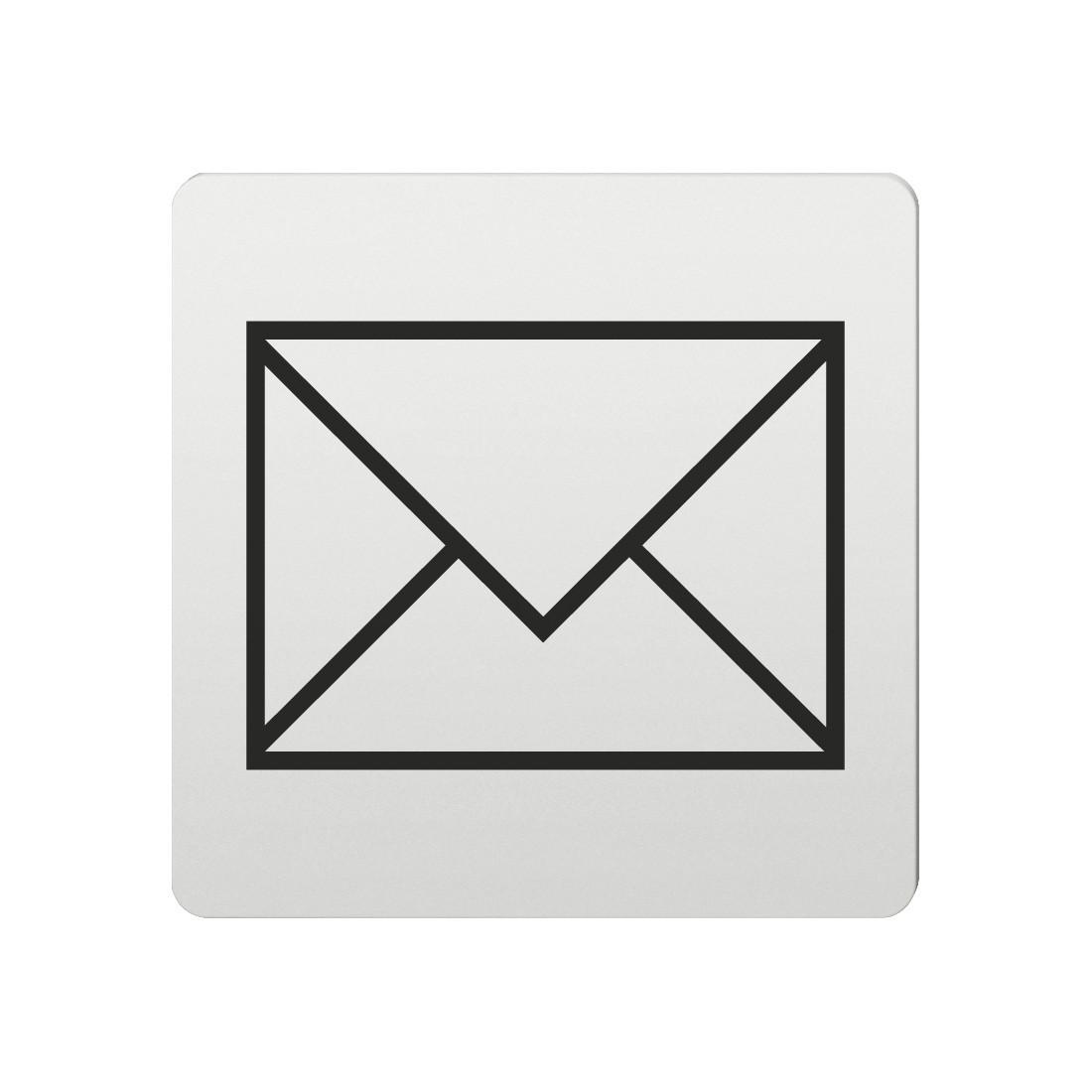 FSB Hinweiszeichen Post Lasergraviert Aluminium naturfarbig (0 36 4059 00210 0105)
