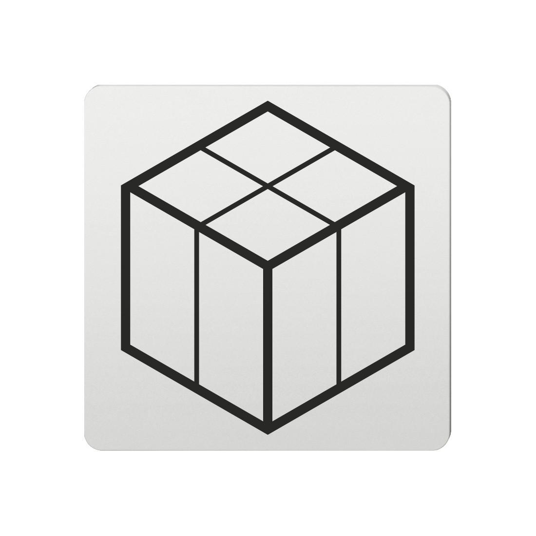 FSB Hinweiszeichen Paket Lasergraviert Aluminium naturfarbig (0 36 4059 00211 0105)