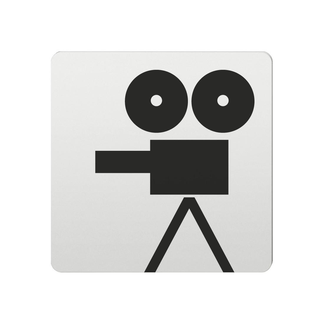 FSB Hinweiszeichen Film Lasergraviert Aluminium naturfarbig (0 36 4059 00232 0105)