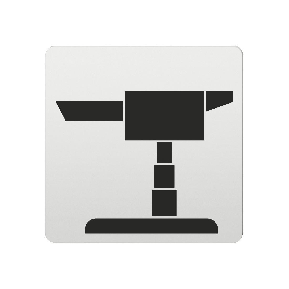 FSB Hinweiszeichen Fernsehen Lasergraviert Aluminium naturfarbig (0 36 4059 00233 0105)