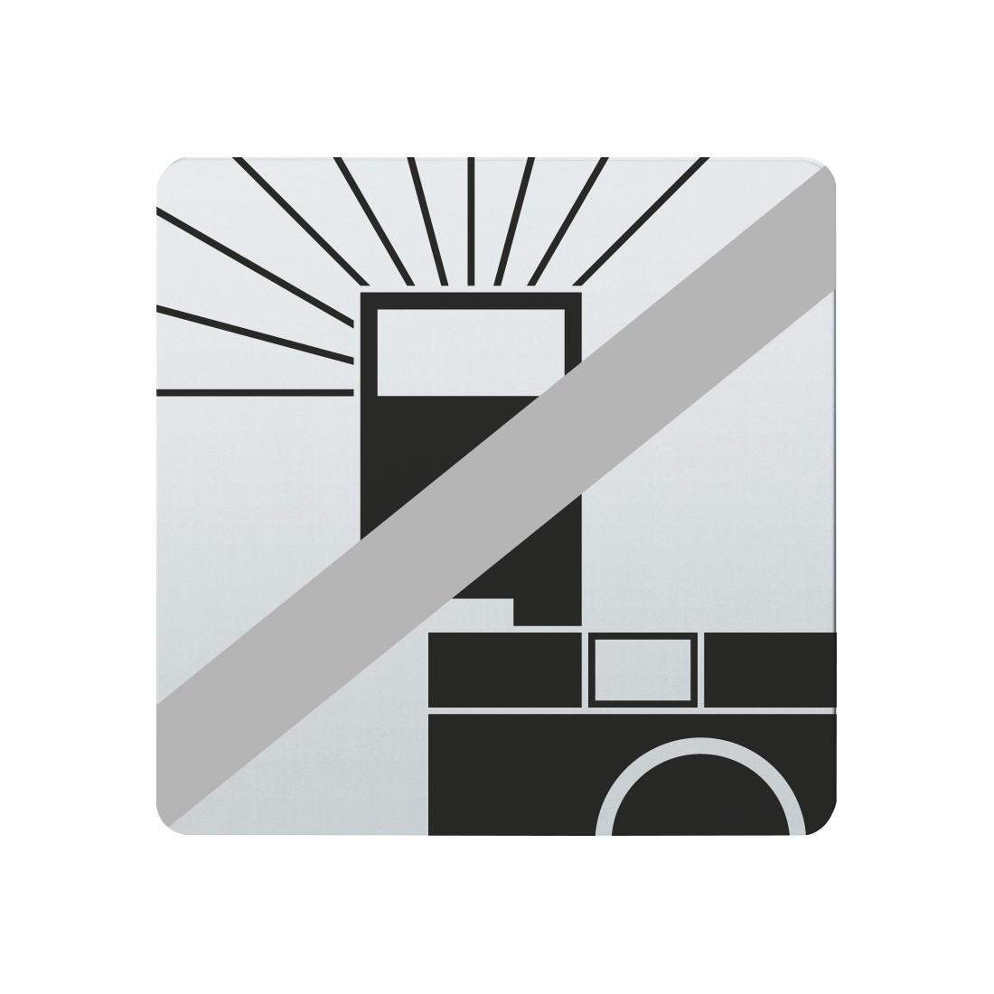 FSB Hinweiszeichen Blitz verboten Lasergraviert Edelstahl fein matt (0 36 4059 00035 6204)