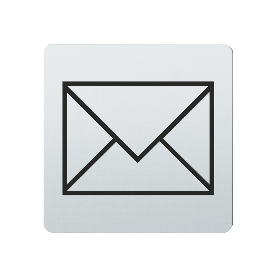 FSB Hinweiszeichen Post Lasergraviert Edelstahl fein matt (0 36 4059 00210 6204)