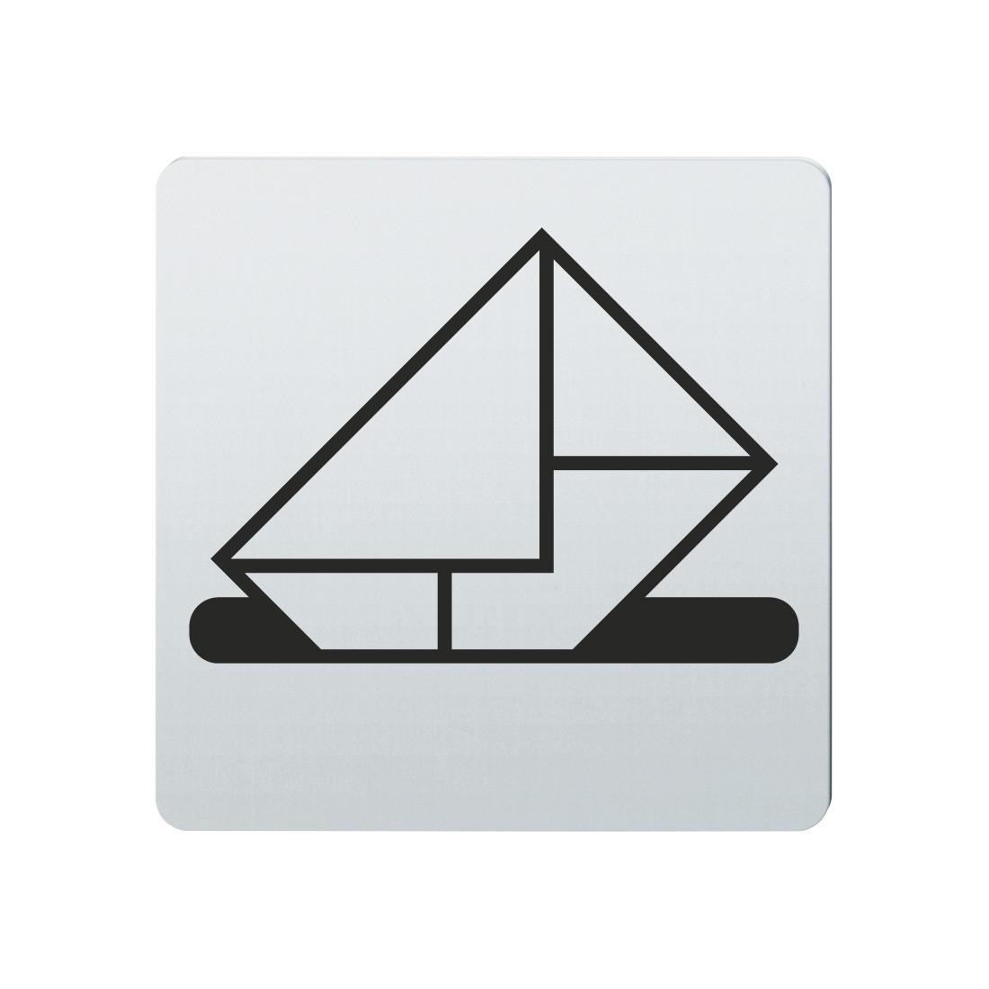 FSB Hinweiszeichen Briefkasten Lasergraviert Edelstahl fein matt (0 36 4059 00213 6204)