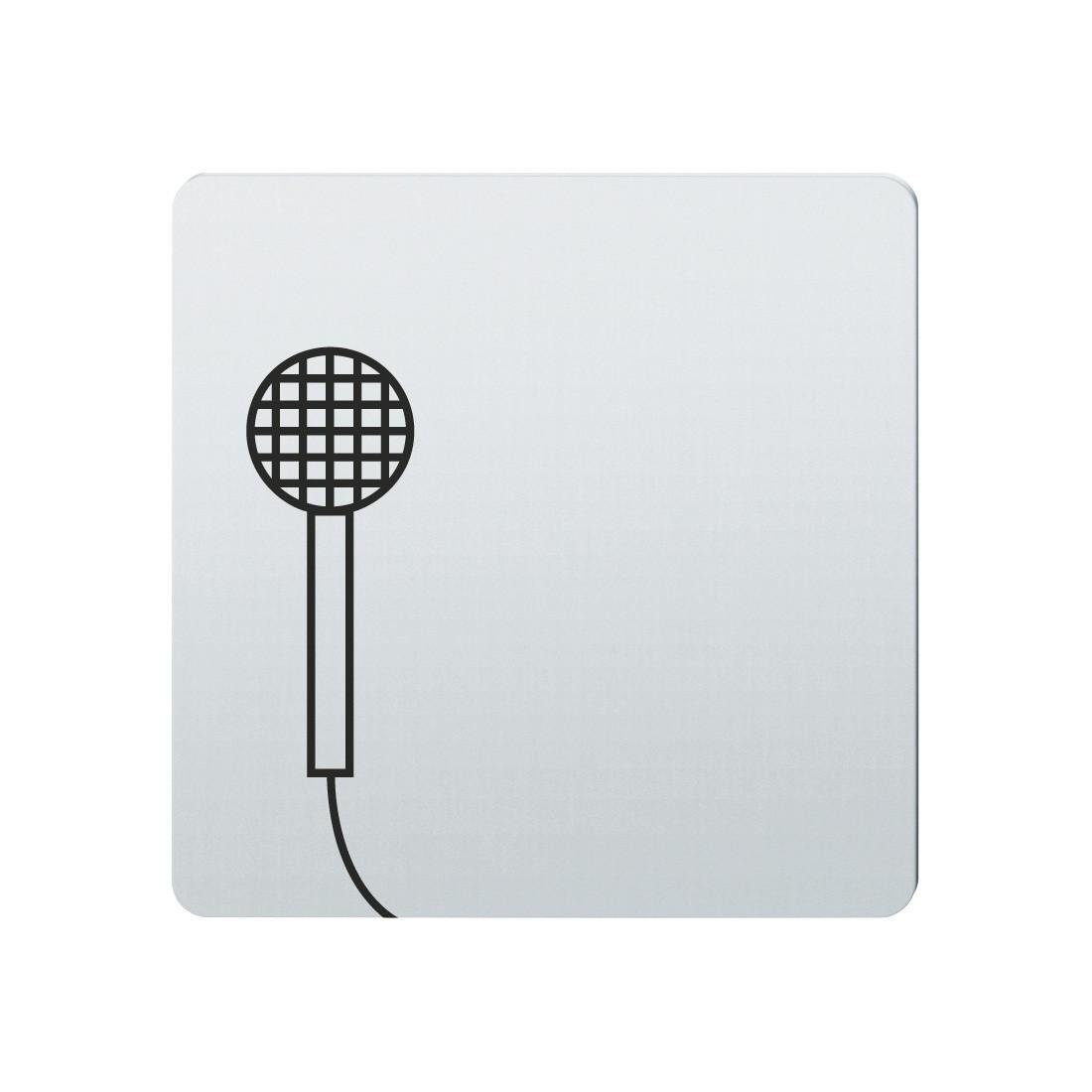 FSB Hinweiszeichen Rundfunk Lasergraviert Edelstahl fein matt (0 36 4059 00231 6204)