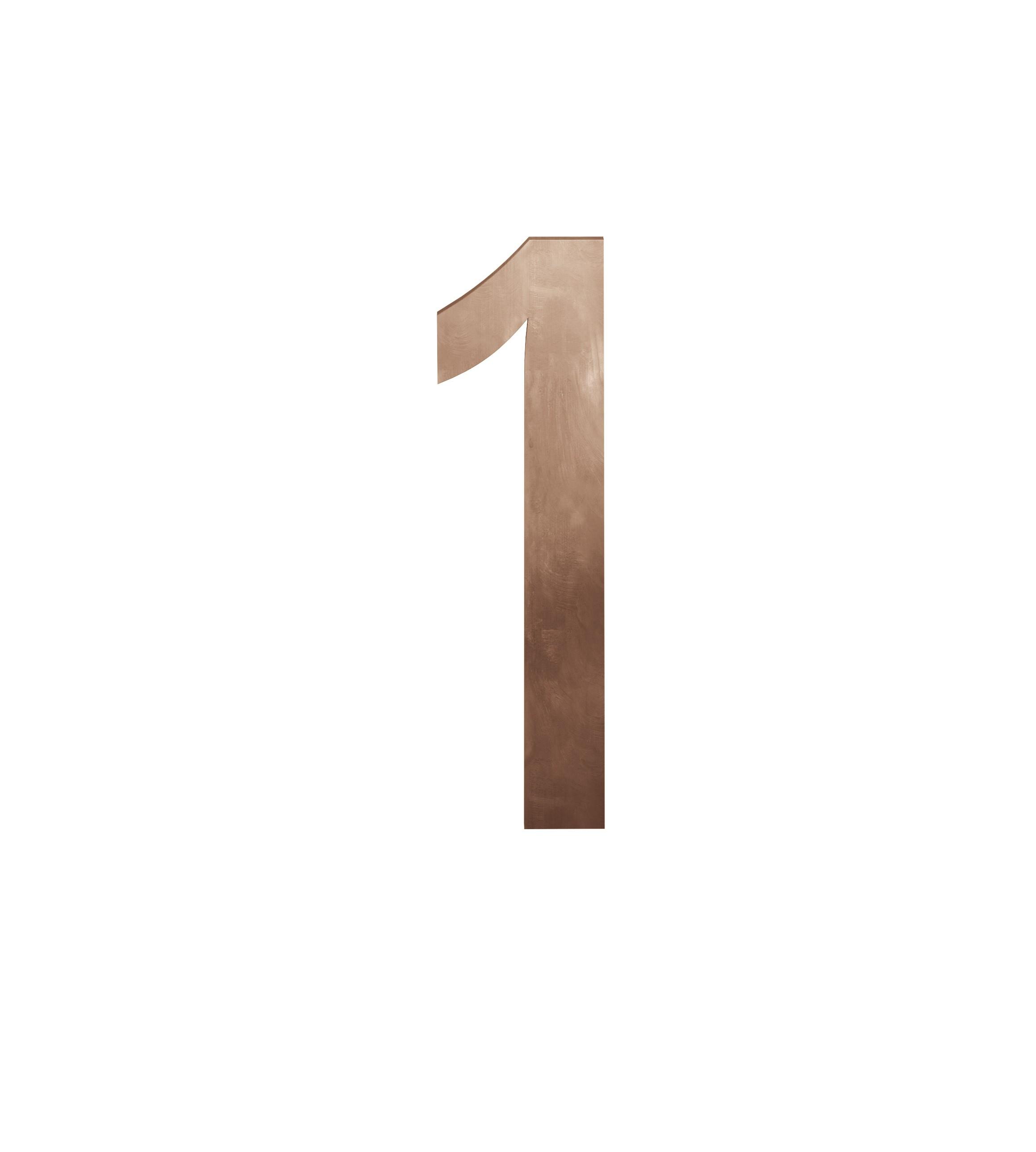 FSB Hausnummer Ziffer 1 Bronze (0 38 4005 00001 7615)