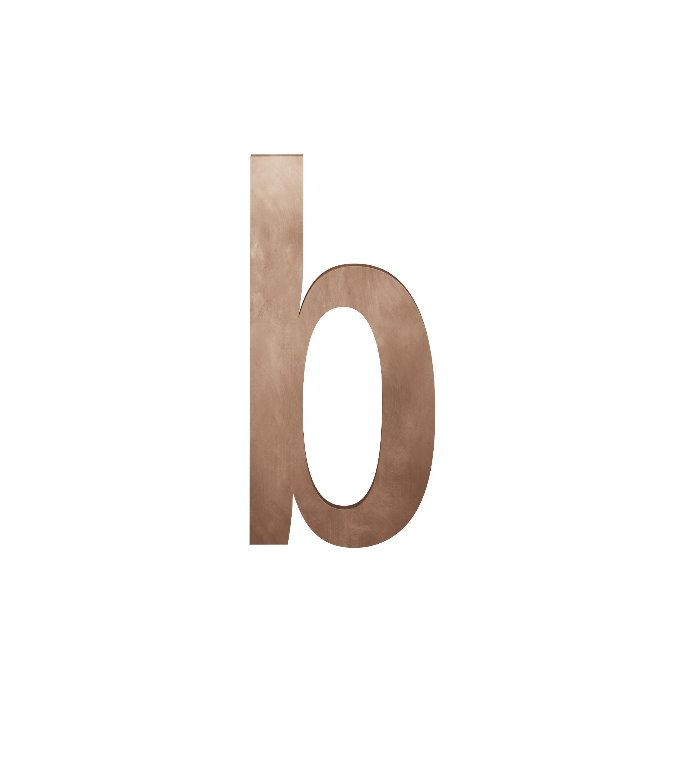 FSB Hausnummer Buchstabe b Bronze (0 38 4005 00012 7615)