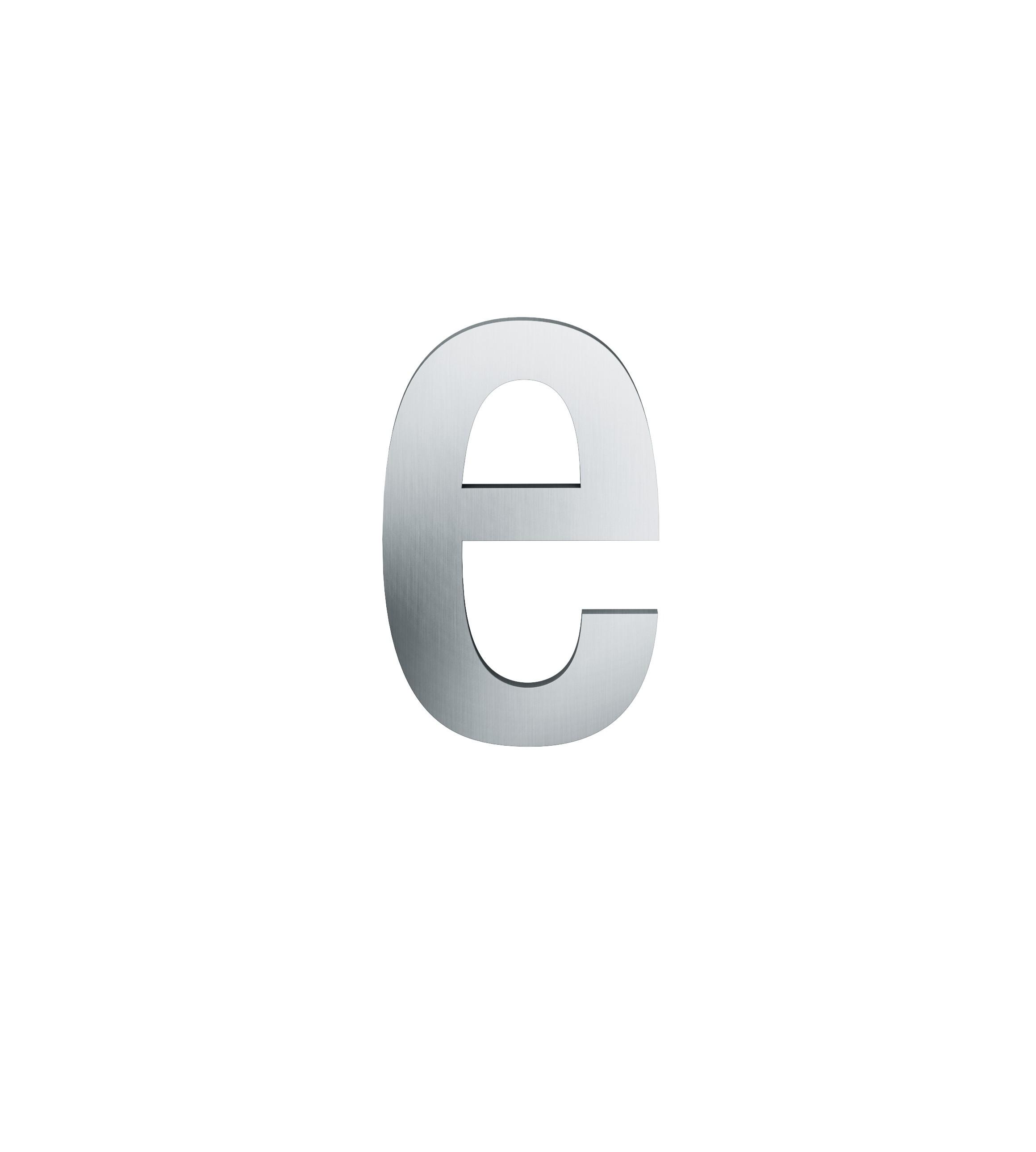 FSB Hausnummer Buchstabe e Edelstahl (0 38 4005 00016 6204)