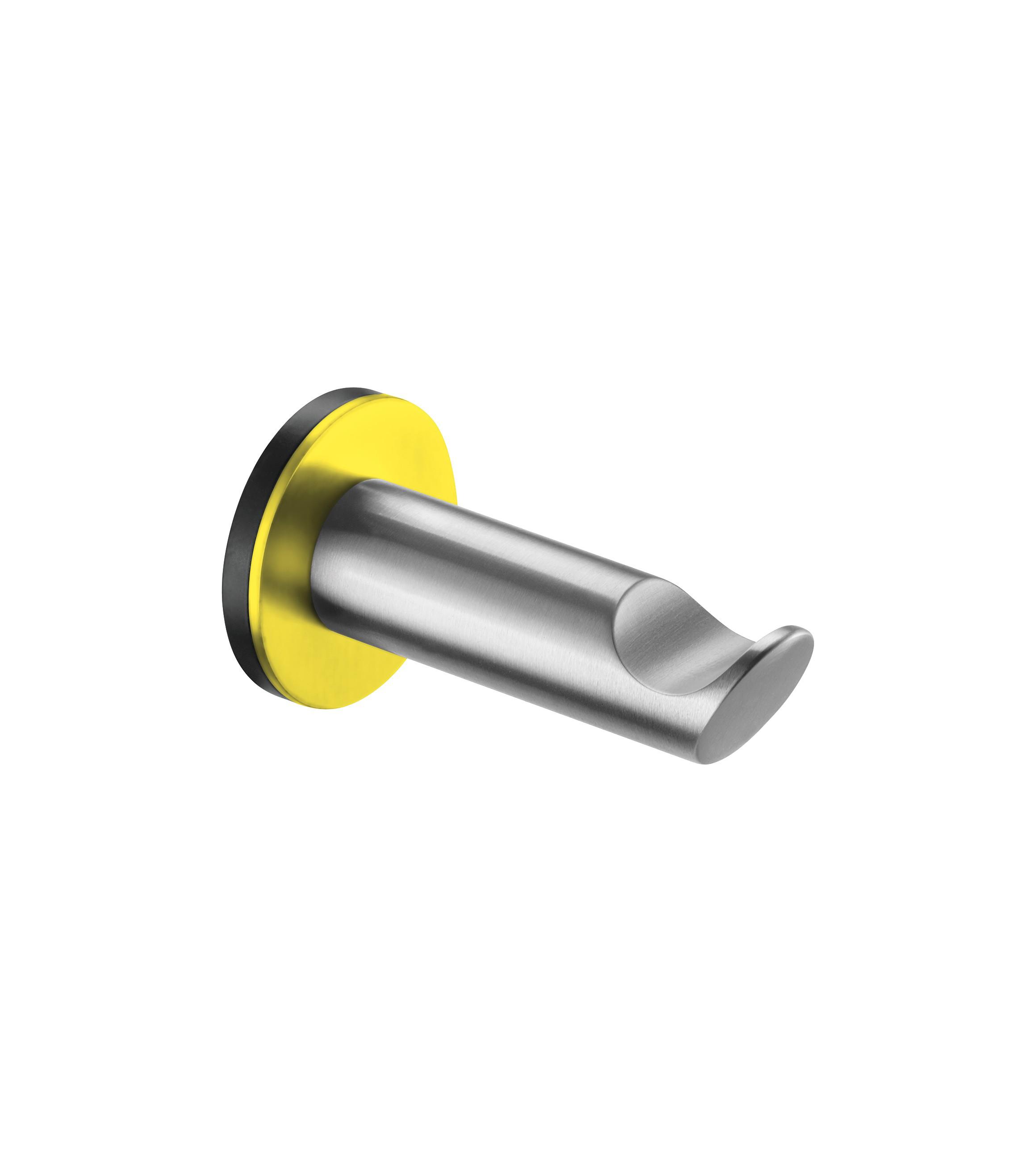 FSB Mantelhaken gelb RAL 1018 Edelstahl gelb (0 82 8260 00002 8700)