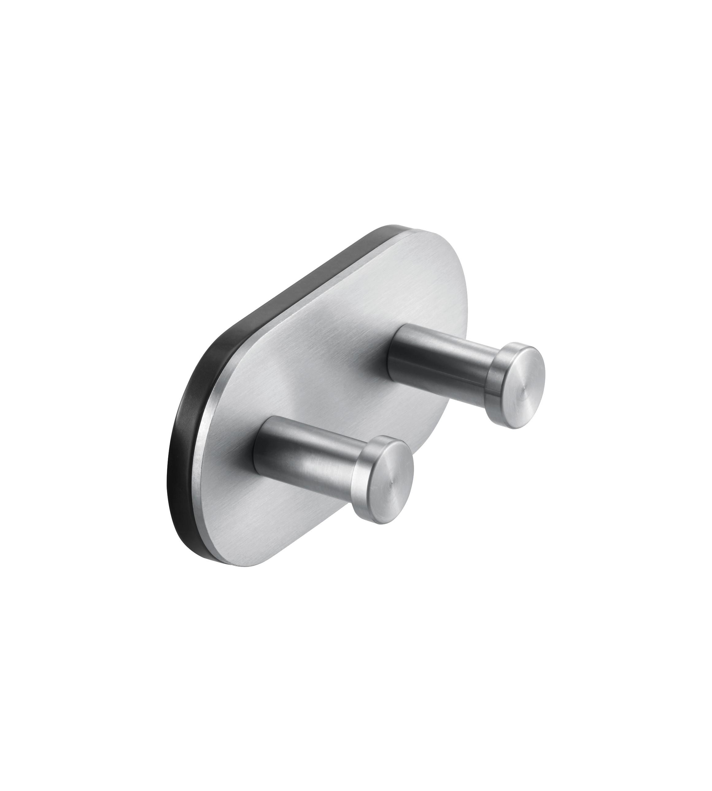 FSB Doppel-Wandhaken Edelstahl polinksert/ Edelstahl metallinksc (0 82 8260 00007 6524)