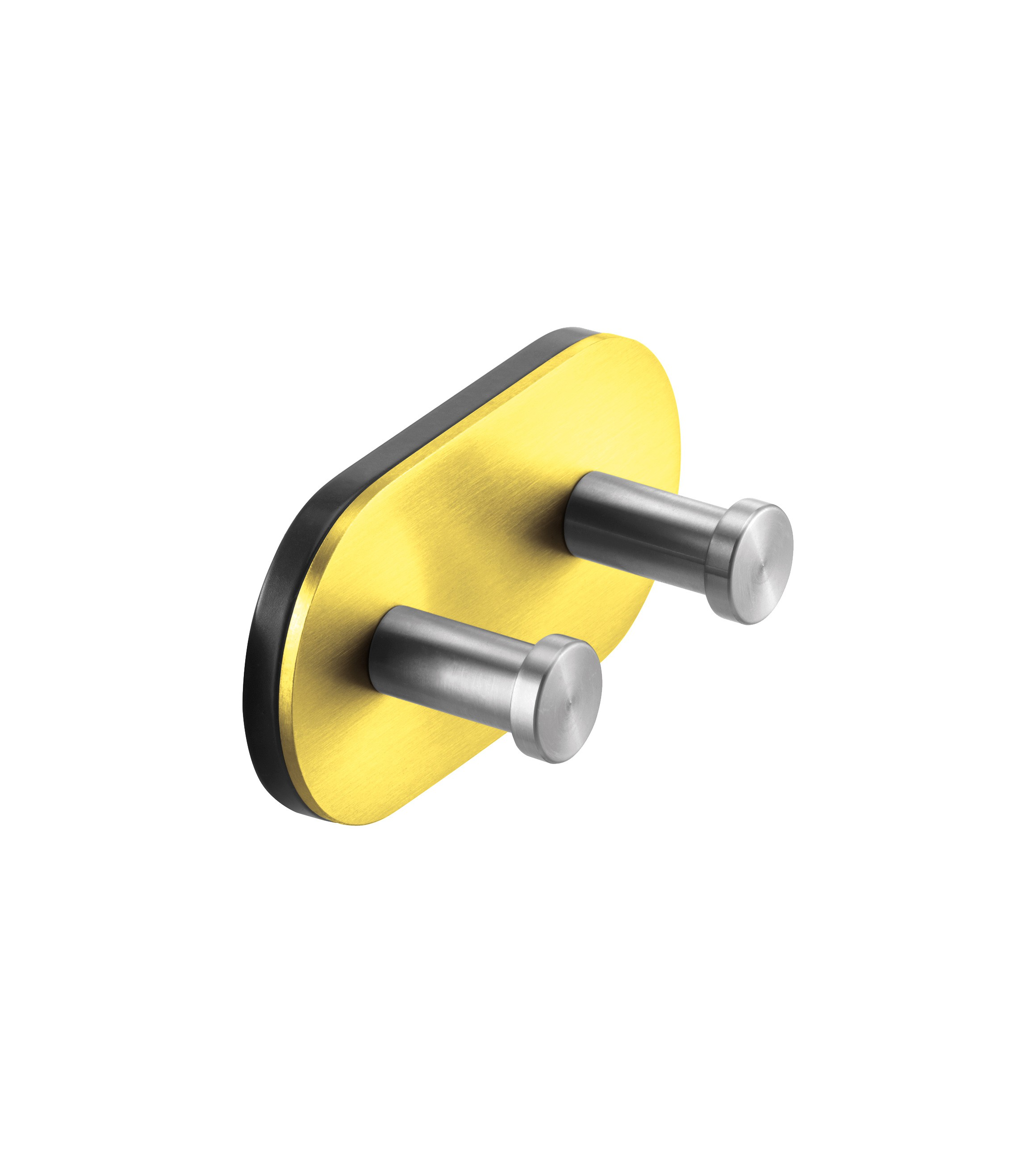 FSB Doppel-Wandhaken gelb RAL 1018 Edelstahl / gelb (0 82 8260 00007 8700)