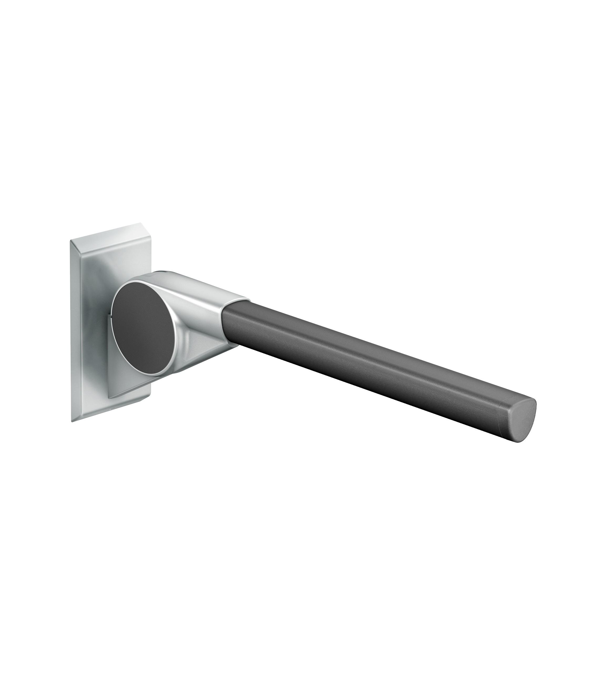 FSB Stützklappgriff 600 mm Ergo A100 Stützen Aluminiumgrau metallinksc Stange Anemonenweiß (0 82 8420 00060 8223)