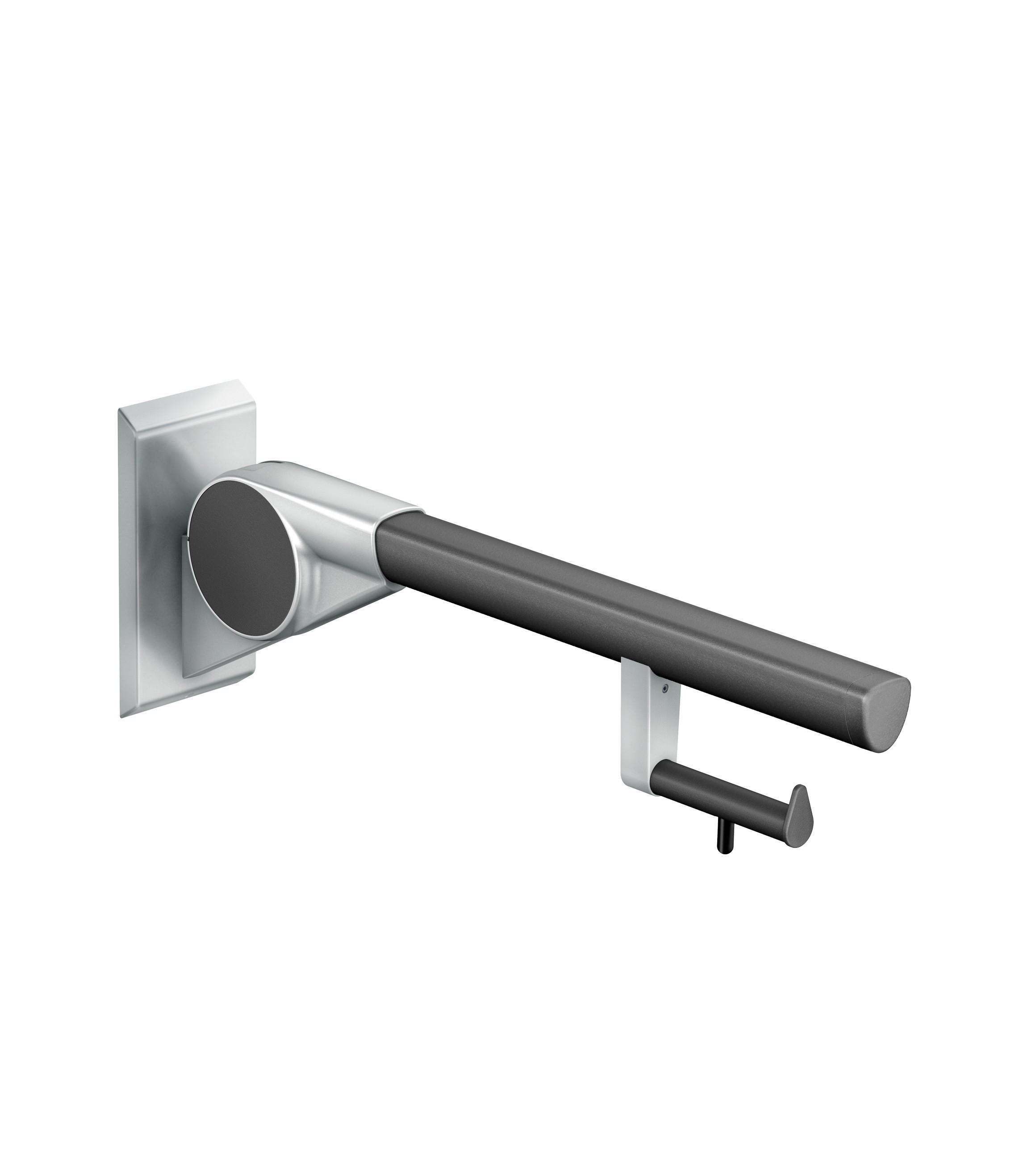 FSB Stützklappgriff 700 mm mit PRH A100 Anthrazitgrau metallinksc (0 82 8420 01070 8809)