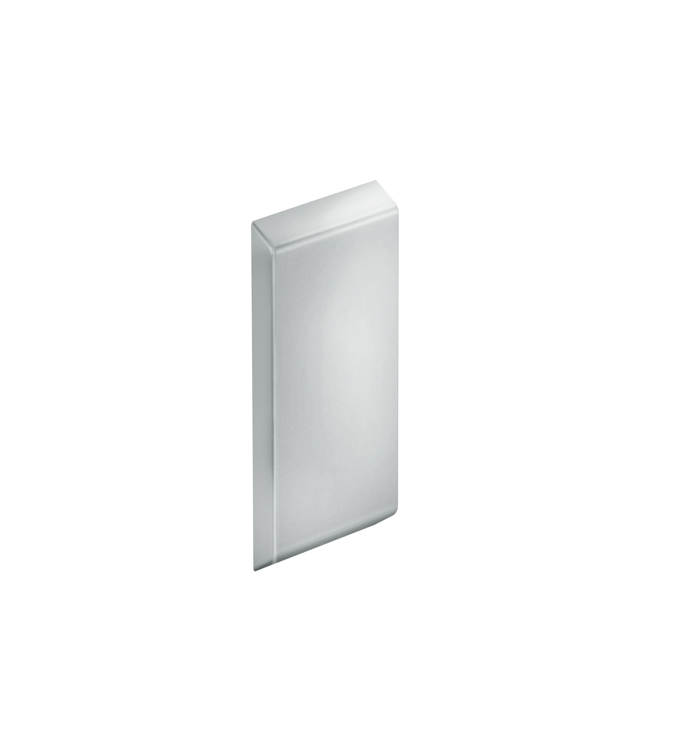 FSB Abdeckplatte ohne Trägerplatte A100 Aluminiumgrau metallinksc (0 82 8421 00001 8829)