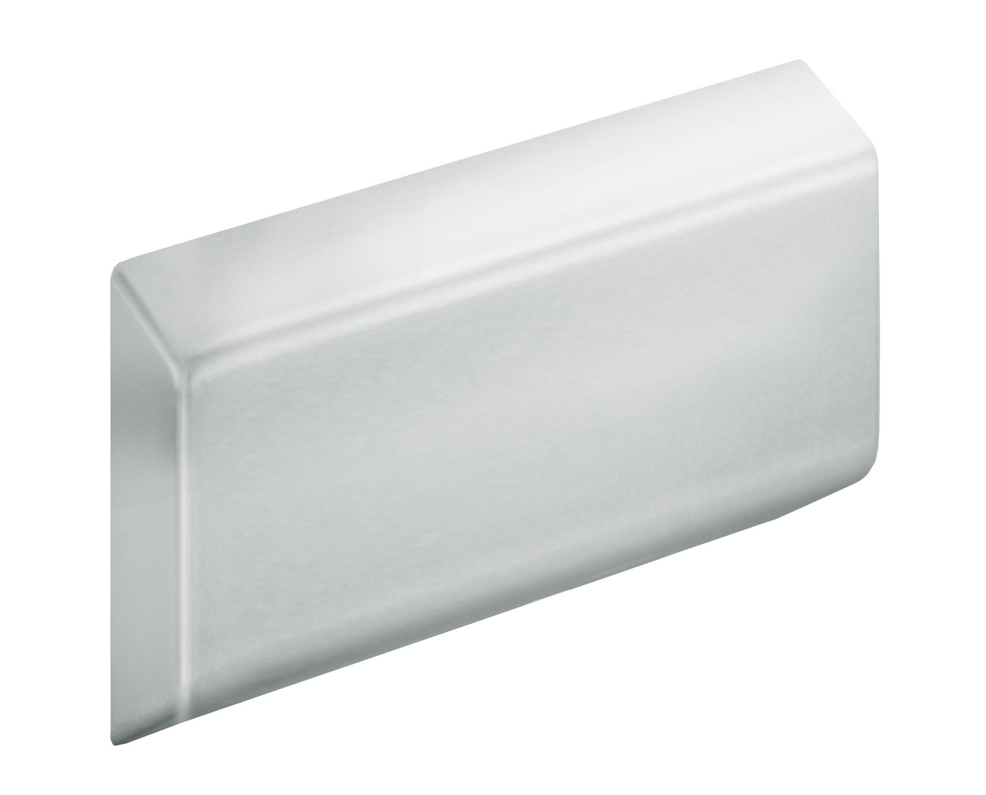 FSB Abdeckplatte ohne Trägerplatte A100 Austerngrau (0 82 8421 00101 8803)
