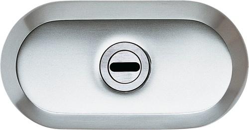 ASSA ABLOY IKON Schutzrosette mit Zylinderabdeckung 9M28 in silberfarben, neusilberfarben, goldfarben, braun, oder Weiß