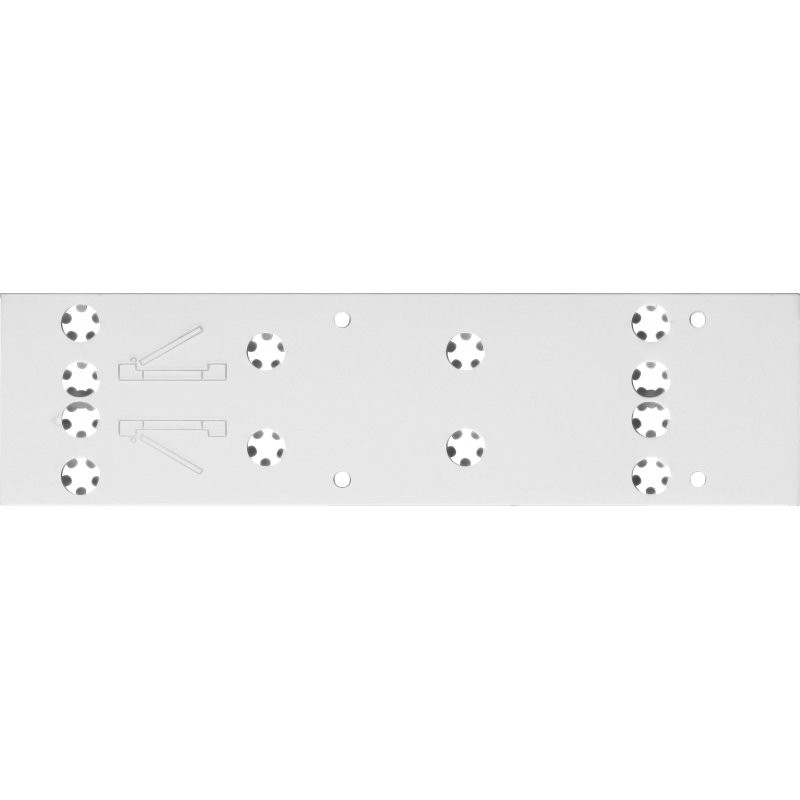 ABUS DIN-Platte für Türschließer 8103