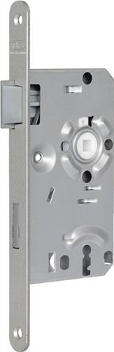 BKS Zimmertür - Einsteckschloss BB 20/55/72/8mm DIN Links silber RD Kl 1