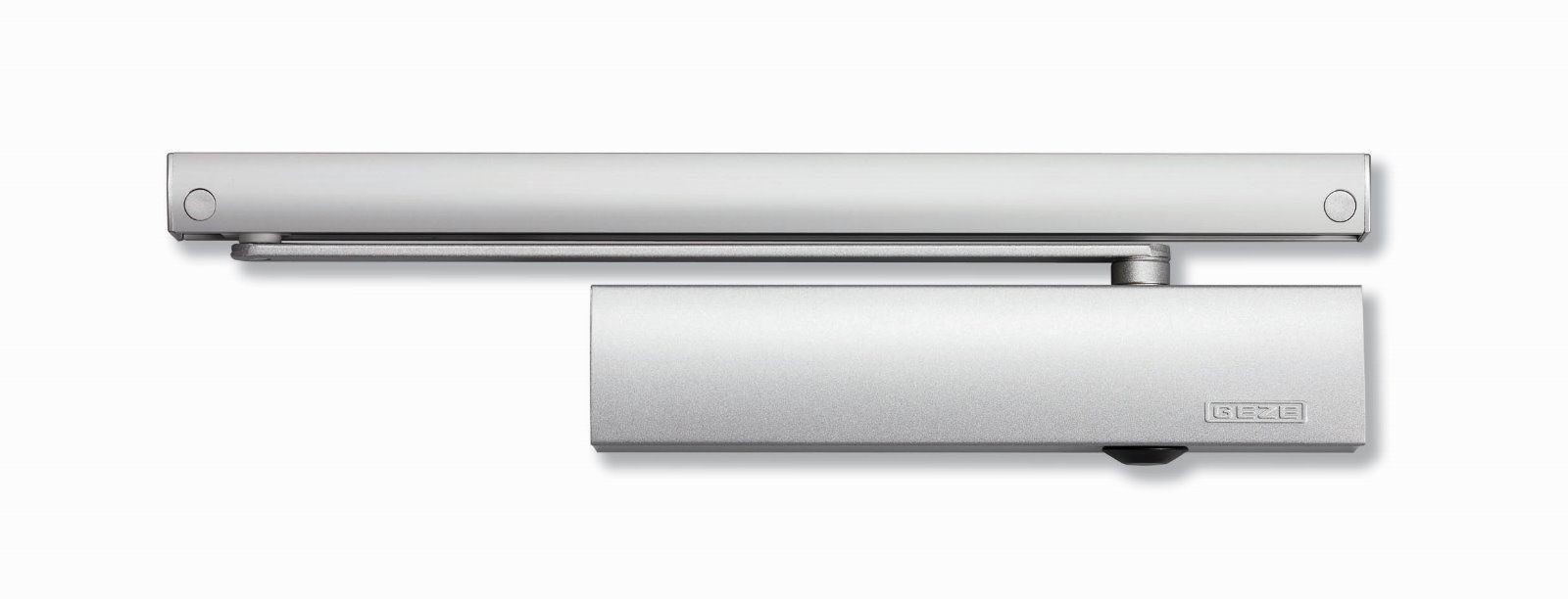Geze Türschliesser Obentürschließer TS 5000 mit Gleitschiene, Silber