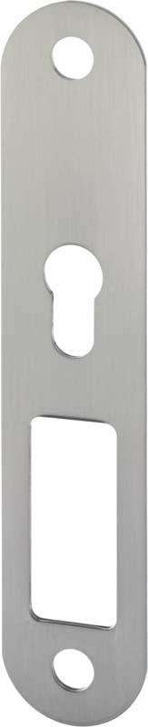 ASSA ABLOY IKON S401 Stahl-Unterlage für Langschild Stahl massiv Zubehör für Türbeschläge