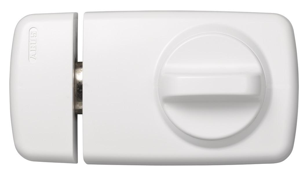 ABUS Tür Zusatzschloss Kasten 7010 braun, silber, weiß