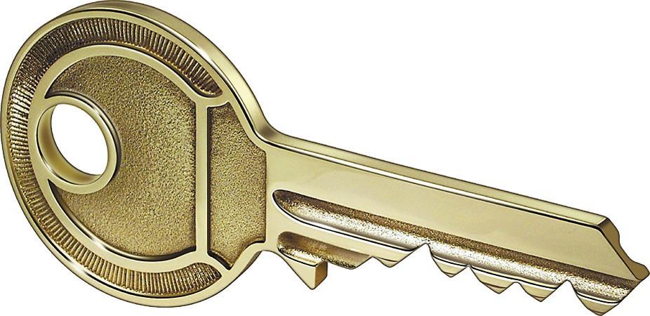 ASSA ABLOY Übergabeschlüssel 8166 Im Etui in Zylinderform