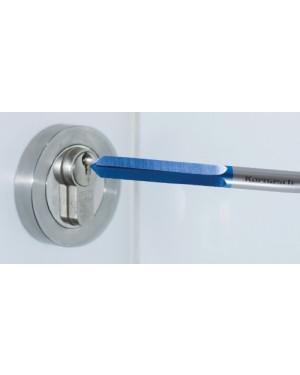 Bohrfräser für Schlüsseldienste, BLUE-TEC-beschichtet 6x60 mm Karbid