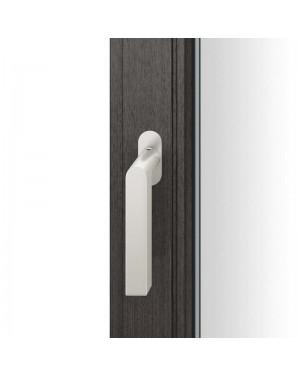FSB Fenstergriff mit ovalrosette flächenbündig. Stift 7 mm Stiftüberstand 14-28 mm Aluminium naturfarbig (0 34 1001 09034 0105)