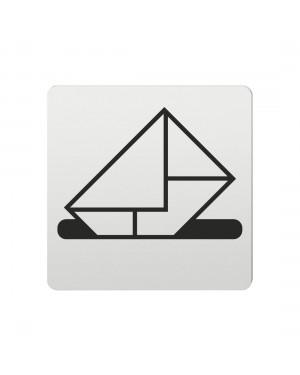 FSB Hinweiszeichen Briefkasten Lasergraviert Aluminium naturfarbig (0 36 4059 00213 0105)