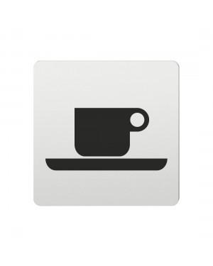 FSB Hinweiszeichen Cafe Lasergraviert Aluminium naturfarbig (0 36 4059 00312 0105)