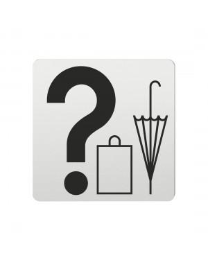 FSB Hinweiszeichen Fundsachen Lasergraviert Aluminium naturfarbig (0 36 4059 00331 0105)