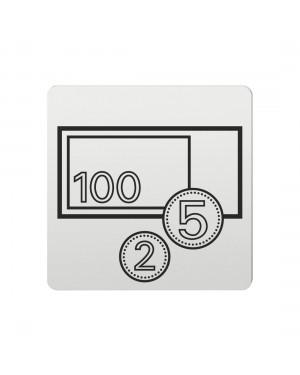 FSB Hinweiszeichen Bank Lasergraviert Aluminium naturfarbig (0 36 4059 00332 0105)
