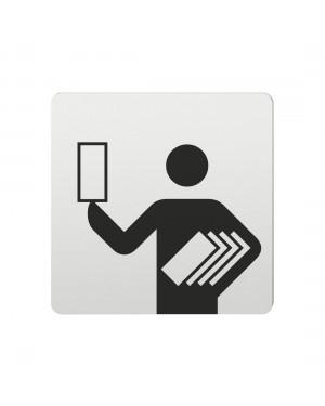 FSB Hinweiszeichen Programmhefte Lasergraviert Aluminium naturfarbig (0 36 4059 00335 0105)