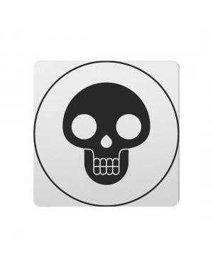 FSB Hinweiszeichen Lebensgefahr Lasergraviert Aluminium naturfarbig (0 36 4059 00410 0105)