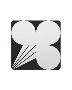 FSB Hinweiszeichen explosive Stoffe Lasergraviert Aluminium naturfarbig (0 36 4059 00418 0105)