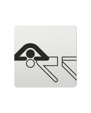 FSB Hinweiszeichen Wiederbelebung Lasergraviert Aluminium naturfarbig (0 36 4059 00434 0105)