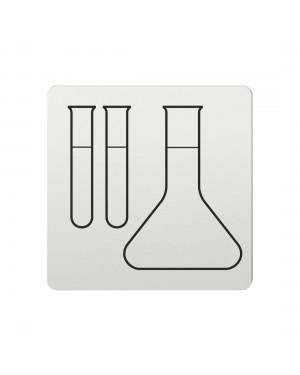 FSB Hinweiszeichen Labor Lasergraviert Aluminium naturfarbig (0 36 4059 00514 0105)