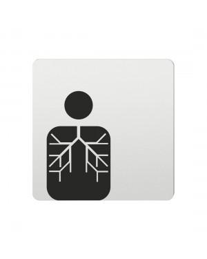 FSB Hinweiszeichen innere Medizin Lasergraviert Aluminium naturfarbig (0 36 4059 00520 0105)