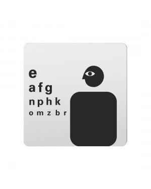 FSB Hinweiszeichen Augenmedizin Lasergraviert Aluminium naturfarbig (0 36 4059 00525 0105)