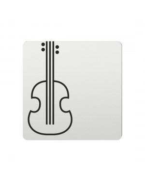 FSB Hinweiszeichen Konzert Lasergraviert Aluminium naturfarbig (0 36 4059 00601 0105)
