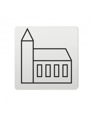 FSB Hinweiszeichen Sehenswuerdigkeit Lasergraviert Aluminium naturfarbig (0 36 4059 00611 0105)