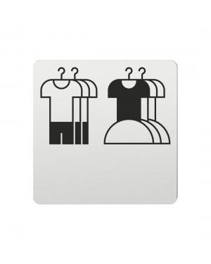 FSB Hinweiszeichen Kinderbekleidung Lasergraviert Aluminium naturfarbig (0 36 4059 00732 0105)